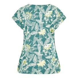 Sana Printed Jersey T-Shirt Viridis