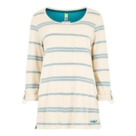 Chrissy Striped Cotton T-Shirt Arona