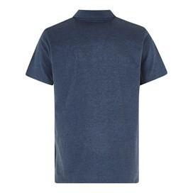 Quay Branded Polo Shirt Maritime Blue Marl