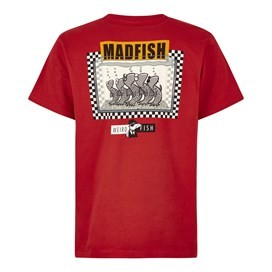 Madfish Artist T-Shirt Dark Red