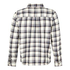 Currow Long Sleeve Brushed Check Shirt Twilight