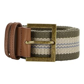 Randall Buckle Webbing Belt Dark Olive