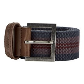 Randall Buckle Webbing Belt Navy