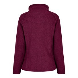 Geranium 1/4 Zip Classic Macaroni Sweatshirt Purple Potion