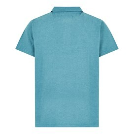 Quay Branded Polo Shirt Harbour Blue Marl