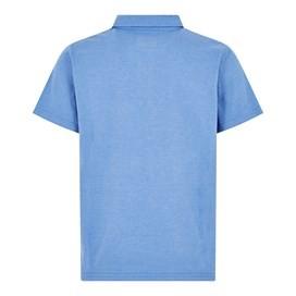 Quay Branded Polo Shirt Aztec Blue Marl