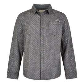 Screeb Long Sleeve Brushed Twill Dobby Shirt Twilight
