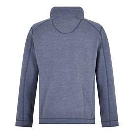 Knock 1/4 Zip Branded Fleece Dark Navy
