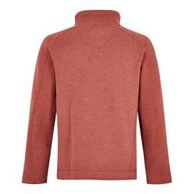 Knock 1/4 Zip Branded Fleece Retro Red