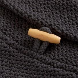 Belem Macaroni Shawl Collar Sweatshirt Grey