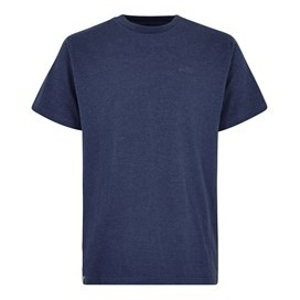 Fished Branded T-Shirt Maritime Blue Marl