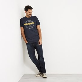Surplus Applique T-Shirt Maritime Blue Marl