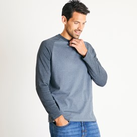 Askill Long Sleeve Jersey T-Shirt Twilight Marl