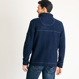 Parkway 1/4 Zip Tech Macoroni Dark Navy