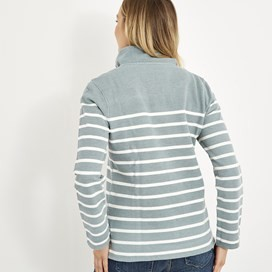 Hansley 1/4 Neck Striped Sweatshirt Arona