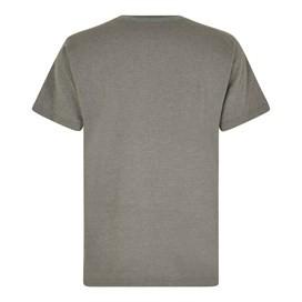 Summer Surf Branded Print T-Shirt Steel Grey Marl