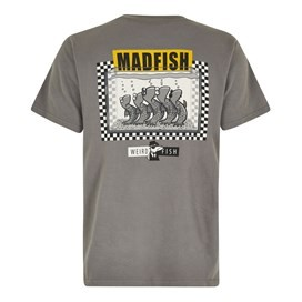Madfish Artist T-Shirt Steel Grey