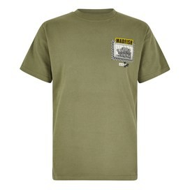 Madfish Artist T-Shirt Khaki Green