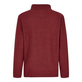 Cruiser 1/4 Zip Classic Macaroni Retro Red