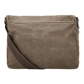 Contrail Waxed Messenger Bag Bark