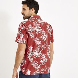 Mayo Hawaiian Short Sleeve Shirt Paprika