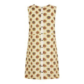 Sachi Printed Tunic Light Cream