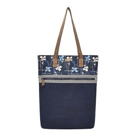 Sina Printed Shopper Bag Midnight