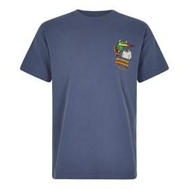 Curry Monster Artist T-Shirt Blue Indigo