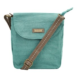 Loula Plain Cross Body Bag Viridis
