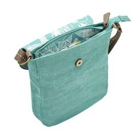 Loula Plain Cross Body Bag Viridis