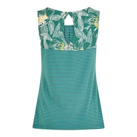 Nilly Striped Jersey Vest Viridis