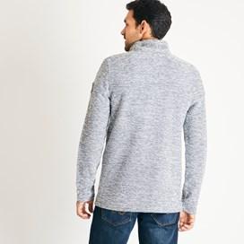 Galvin 1/4 Zip Active Macaroni Sweatshirt Ecru