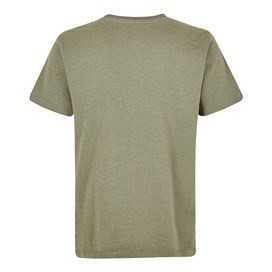 Trout Graphic T-Shirt Khaki Green Marl