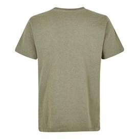 Trout Graphic T-Shirt Khaki Green Marl