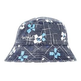 Cleethorpes Printed Reversible Hat Midnight