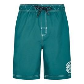 Cork Branded Board Shorts Harbour Blue