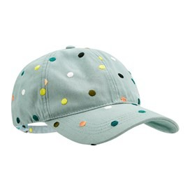 Alma Polka Dot Embroidered Cap Arona