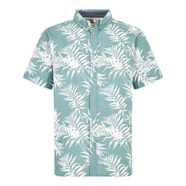 Mayo Hawaiian Short Sleeve Shirt Mineral Blue