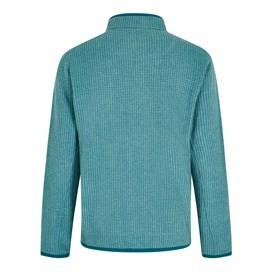Ross Full Zip Grid Fleece Harbour blue