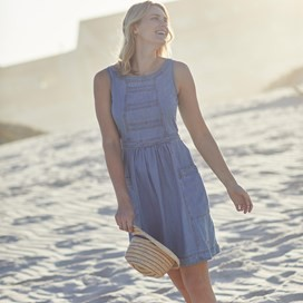 Saffy Denim Sundress Denim