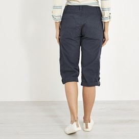 Salena 3/4 Length Trousers Dark Navy