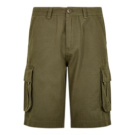 Brize Cotton Twill Cargo Shorts Burnt Olive