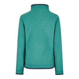Beyonce 1/4 Zip Grid Fleece Viridis