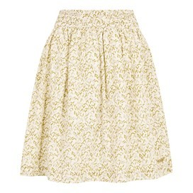Haywood Printed Voile Skirt Bamboo