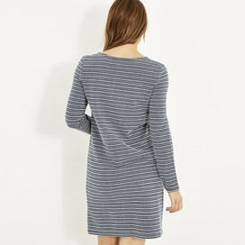 Sailaway Stripe Jersey Dress Dark Navy