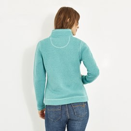 Galata Full Zip Soft Knit Fleece Aqua Marine