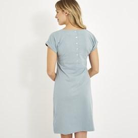 Talia Plain Jersey Dress Arona Marl