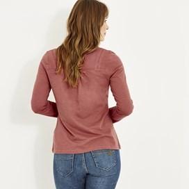 Walkabout Slub Cotton T-Shirt Rhubarb
