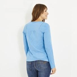 Walkabout Slub Cotton T-Shirt Scandi Blue
