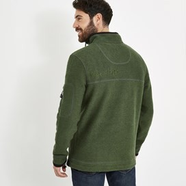 Parkway 1/4 Zip Tech Macaroni Military Olive